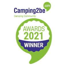 award Camping2be Award 2021