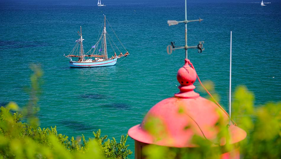 camping 3 étoiles en bord de plage à Fouesnant