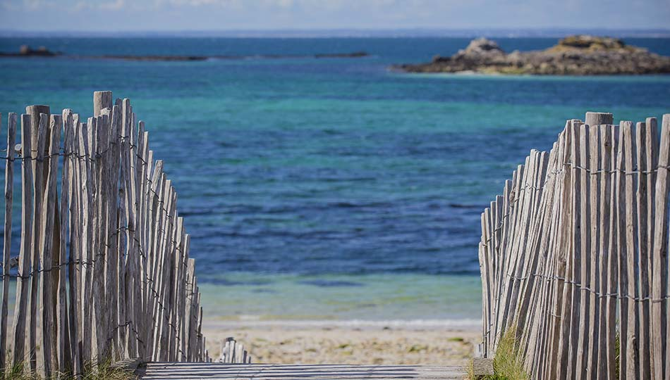 camping bord mer 3 étoiles à Fouesnant