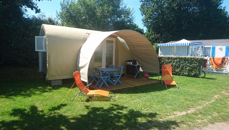 location tente lodge fouesnant
