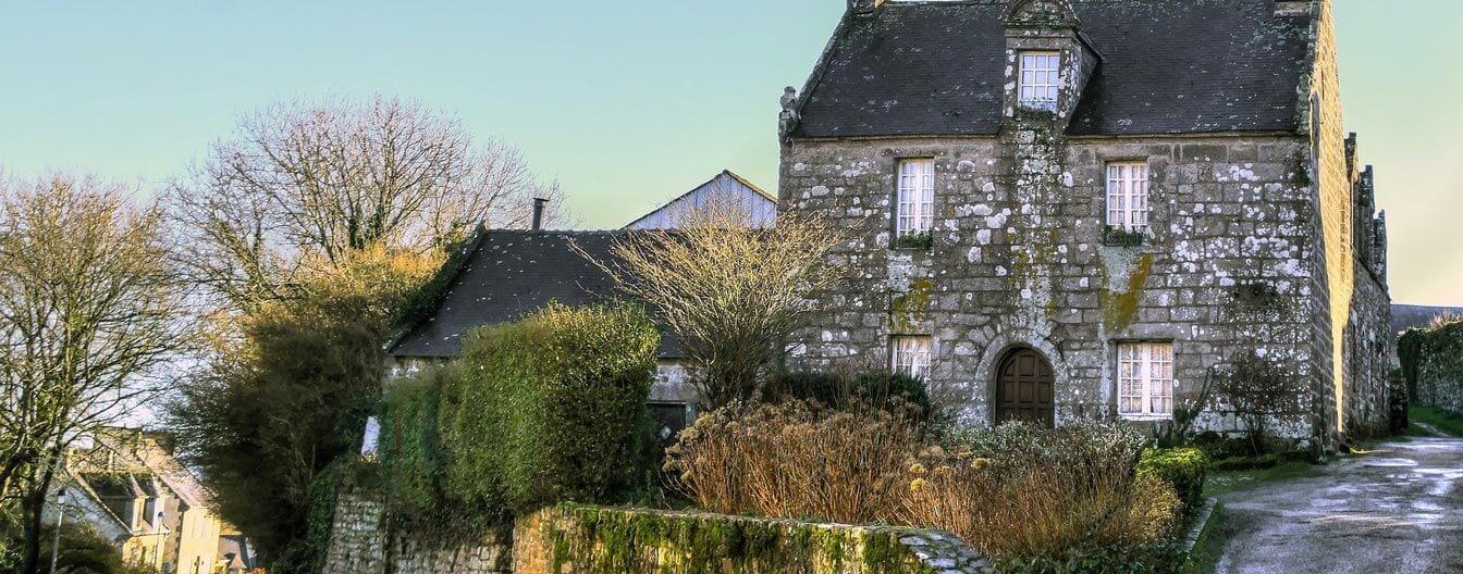 top village Finistère