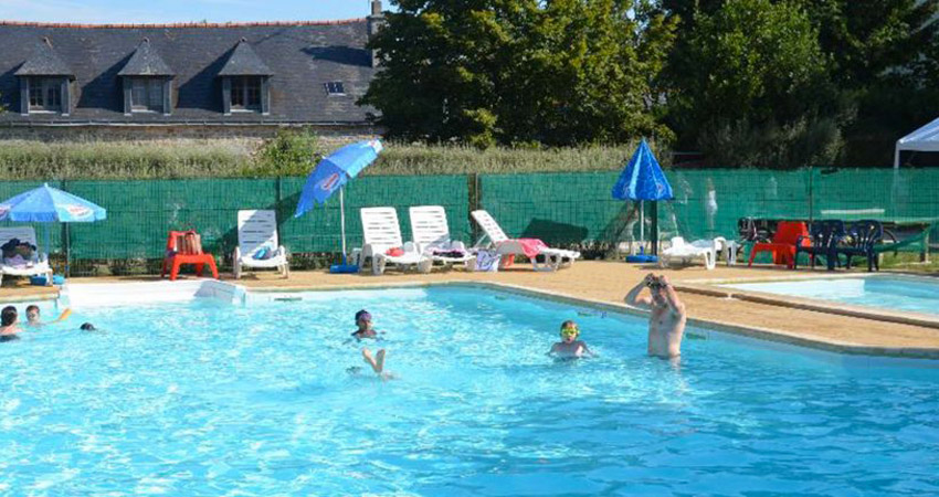 camping avec piscine Finistère